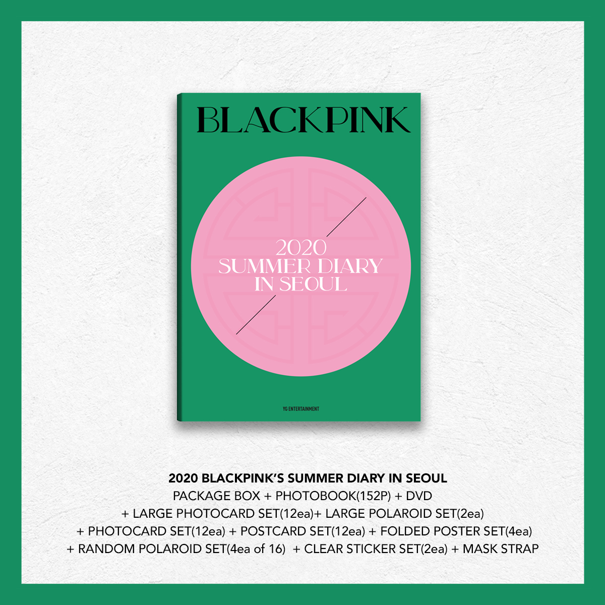 BLACKPINK Summer Diary in Seoul 2020