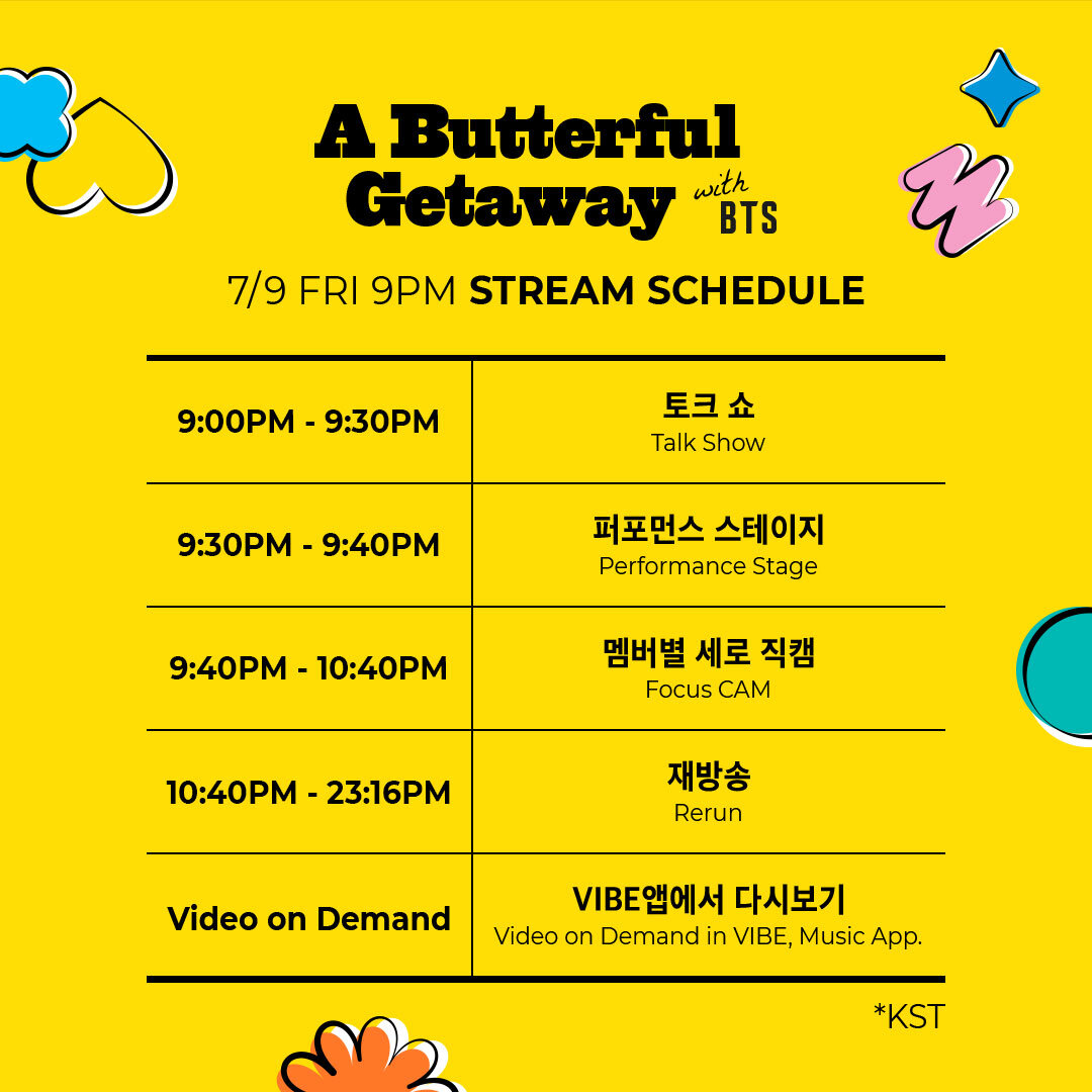 BTS COMEBACK SPECIAL: A BUTTERFLY GET AWAY with BTS